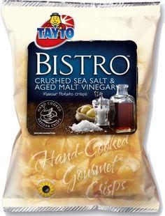 Food Ireland Tayto Bistro Salt & Vinegar 50g (1.8oz) 5 Pack