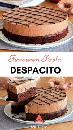 İnternetin Fenomen Pastası Despacito'yu mutlaka bu tarif ile denemelisiniz - Food and drinks interests Yummy Recipes, Cake Recipes, Dessert Recipes, Yummy Food, Dinner Recipes, Easy Desserts, Pasta Recipes, Beef Pies, Mince Pies