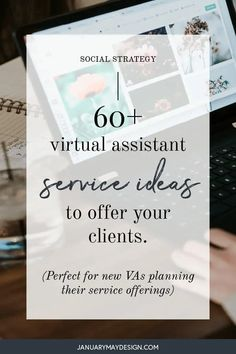 60+ Virtual Assistant Services to Offer (+ How to Get Started as a new VA) Marketing Guru, Email Marketing, Virtual Assistant Services, Up Quotes, Career Advice, New Job, Pinterest Marketing, Understanding Yourself, Cool Websites