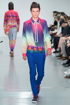Katie Eary Spring 2016 Menswear Beautiful Colours  - Collection - Gallery - Style.com