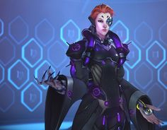 Moira: Overwatch's new hero has some intriguing abilities
