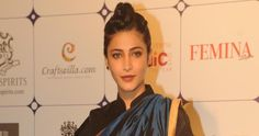 """Actress Shruti Haasan has been signed on to play the leading lady in upcoming mega budget Tamil period drama """"Sanghamitra"""", which will star Jayam Ravi and Arya in the lead and will roll from April."""