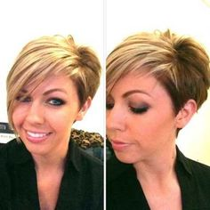 Dark Blonde Short Hairstyles |