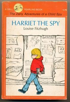 Harriet the Spy by Louise Fitzhugh. The classic story of a girl who spies on people as a hobby. This honestly was my favorite book as a kid. I tried to be Harriet the Spy myself...I wasn't very good, but at least I tried! Truly a literary love.