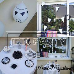 Jedi Party Star Wars, Party, Decor, Decoration, Decorating, Starwars, Dekorasyon, Dekoration, Receptions