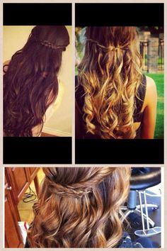 Graduation... hair... maybe