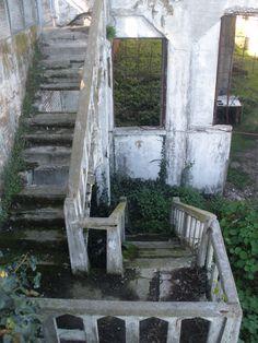 Alcatraz stairs to nowhere by Amy Switzer