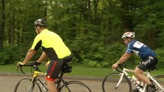 A couple of Connecticut men said they're trying to go beyond aPan-Mass Challenge to raise money for cancer research.