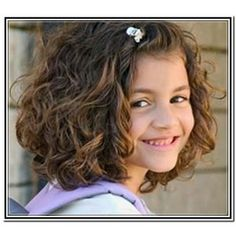 haircuts for little girls with curly hair - Google Search