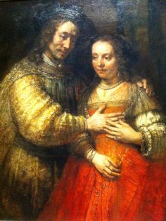 Rembrandt - Jewish bride Rijksmuseum Amsterdam