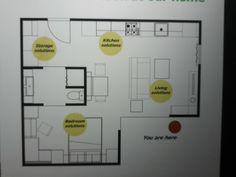 Ikea tiny house 35m squared!