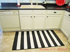 Kitchen remodel | repainting cabinets and recoating countertops