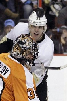 03/18/12:  Damn it Bryzgalov! - You make it more difficult - for the Pens to score. (Tough OT loss for the Penguins, 3-2