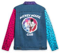 Disney The Mickey Mouse Club Denim Jacket for Women