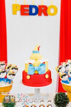 Pinocchio themed birthday party with Lots of Super Cute Ideas via Kara's Party Ideas | KarasPartyIdeas.com #pinocchio #pinocchioparty #party...