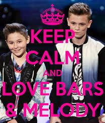 Keep Calm and love Bars and Melody <3