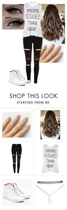 """""""Untitled #82"""" by mayaforever3 ❤ liked on Polyvore featuring xO Design, River Island, Vans and Wet Seal"""