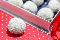 Loetitia Cuisine : trufffes pralinées choco coco
