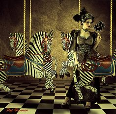 The Carnival    by Pat Brennan  (moonmomma deviantart)