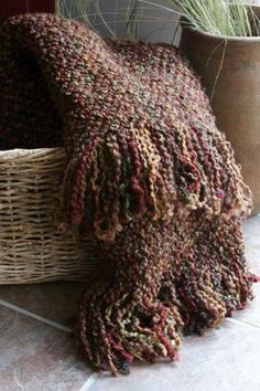 contemporary throws by Home Decorators Collection Greige, Brown Image, Knitted Afghans, Manta Crochet, Little Brown, Cozy Blankets, Log Homes, Earth Tones, Fantasy