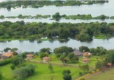 Pontos Turísticos de Mato Grosso: Pousada Recanto do Sossego, no município de São Fé...