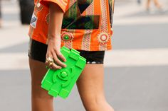 The 34 Most Epic Bags From NYFW #refinery29  http://www.refinery29.com/fall-handbags#slide13  Lego my Chanel!