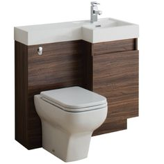 TC Richmond 900 Double Soft Close Drawer Vanity Unit & WC Unit Inc Basin