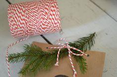 Kordel rot weiß ca. 150m von FABRICmien auf DaWanda.com