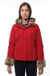 Woolrich Parka New Boulder rouge Anorak de dames