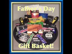 DIY DOLLAR TREE FATHER'S DAY GIFT BASKET!