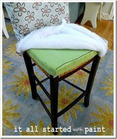DIY Parson Style Counter Height Chairs
