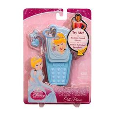 Disney Princess Royal Cinderella Cell Phone by Disney Princess. $9.99. Realistic sound effects from the button activated faceplate!