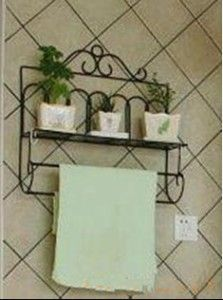 Cast Iron Shelf For Bathroom Details About Wrought French Style Towel Rail