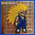 Majin Vegeta. #dbz #dbzfan #vegeta #majinvegeta #majinvegetassj3 #dragonball #dragonballz #pixel #dragonballgt #pixelart #perlerart #perler #perlerbeads #anime #perlerbeadspost #art