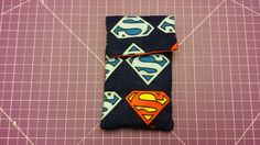 """Leap tall buildings with a single bound."" Superman Shield Phone Cover"