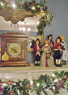 Williamsburg Carolers: I want 1 representing each family member for Christmas, and some of the patriotic ones, as well.