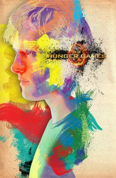"Peeta Character Poster Remix by ""Vitamins"" on tumblr"