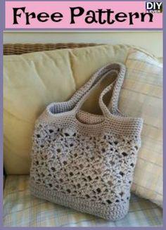 Creative Crochet Tote Bags – Free Pattern #crochet #freepattern