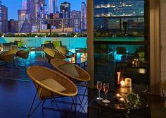 Rooftop at QT--QT MELBOURNE 133 Russell Street, Melbourne, VIC 3000, Australia