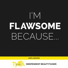 "Flawsome is all about loving the ""flaws"" that make you, you. Perfect is boring and we're all about celebrating the beautiful differences in all of us. What makes you Flawsome? Share it with the world! #ImFlawsome https://multibra.in/6t2jn"