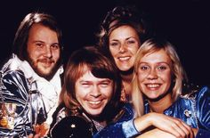 "ABBA Happy in Brighton. ""Waterloo Time"" 1974"