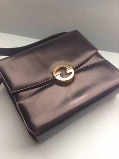80s gucci wallet business or credit card holderdesigner 60s gucci bag purse black leather gucci designer colourmoves