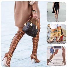 Click: Sandálias Gladiadoras