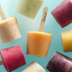Three simple ingredients are all you need to make homemade fro-yo pops!