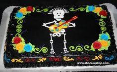 Résultats de recherche d'images pour «dia de los muertos cake»