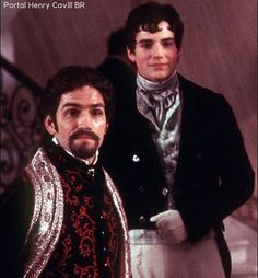 #ThrowbackThursday: #TBT: #HenryCavill como Albert Mondego com #JimCaviezel (Edmond Dantes / O Conde) em O Conde de Monte Cristo. Filme de 2002. //// @henrycavill as Albert Mondego with Jim Caviezel (Edmond Dantes / The Count) in The Count of Monte Cristo. 2002 film.