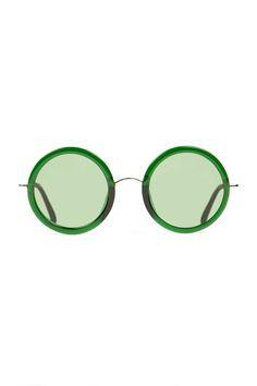 Linda Farrow Vintage More Ray Ban, Round Glass Linda Farrow Vintage. The Row Oversized Round Glasses.