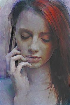 Evanesce Art Print by Galen Valle