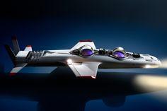 deepflight super falcon hydrobatic craft created by former james bond villain - designboom | architecture
