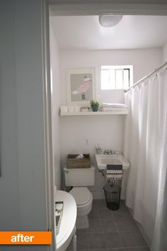 Before & After: A One-Weekend Bathroom Refresh (+ Painting Tips from a Lazy Perfectionist)